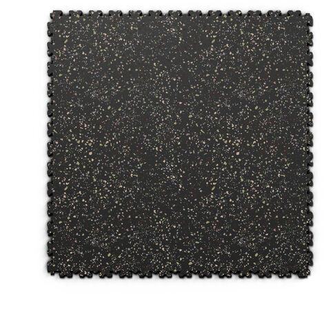 "Dalle PVC garage Fortelock XL Print 2230 ""Skin Noir 05"" - 65,3 x 65,3 cm"