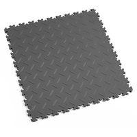 Dalle PVC pour garage Fortelock Industry 2010 - 50x50cm - aspect diamant