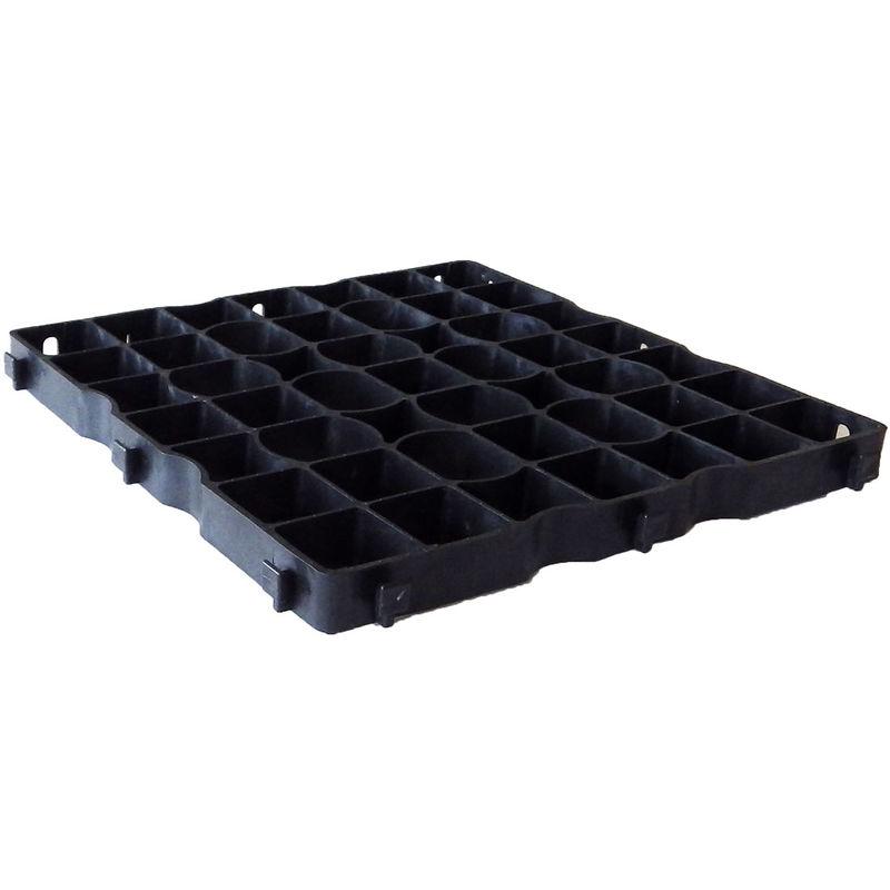 Dalle Stabilisatrice De Gravier Nidagravel Ig040 50 X 50 Xm Nidaplast