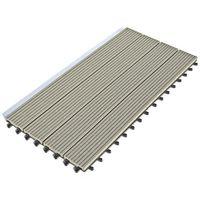 Dalle Terrasse Composite clipsable - Gris