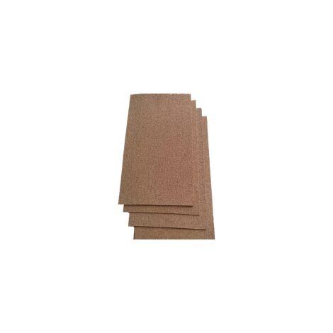 Dalles de liège en sous-couche ou parement mural - 10mm - 10mm | pièce(s) de 0.5 m² - 0 - standard