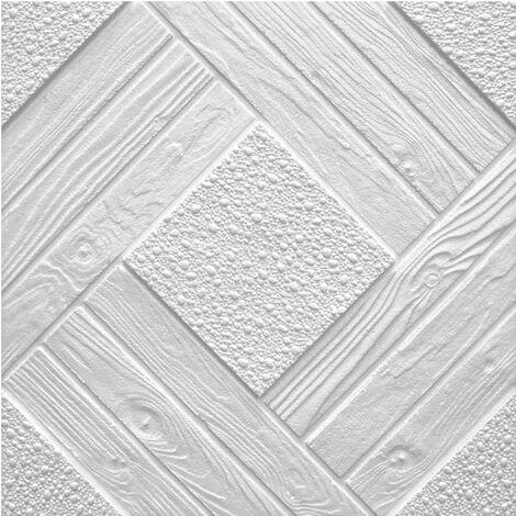 Dalles de plafond   EPS   formfest   Marbet   50x50cm   Duo