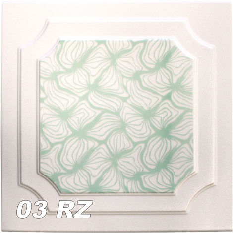 Dalles de plafond | XPS | rigide | Hexim | 50x50cm | No.03