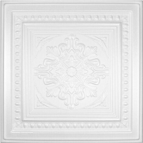 Dalles de plafond   XPS   rigide   Hexim   50x50cm   No.36