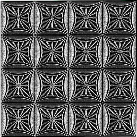 Dalles de plafond   XPS   rigide   Hexim   50x50cm   No.81