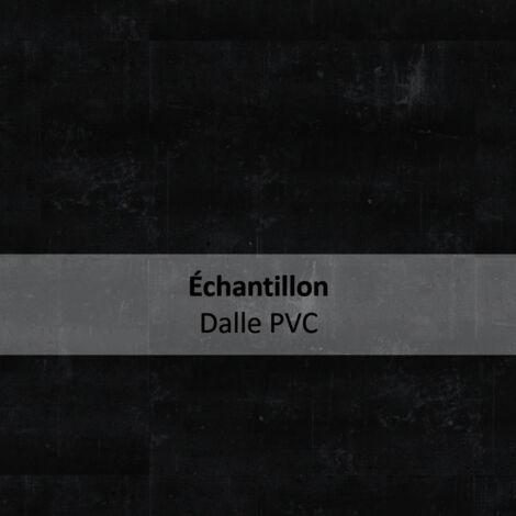 Dalles de sol PVC clipsables - boite de 9 dalles sol vinyle imitation carrelage - 1,75 m² - Essentiel Click 30- COMPOSITE noir - TARKETT