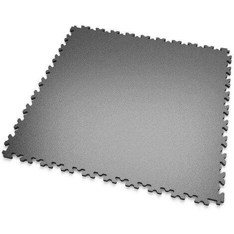 "DALLES MOSAIK PVC Anthracite - GARAGE, ATELIER ""Surface Lisse"""