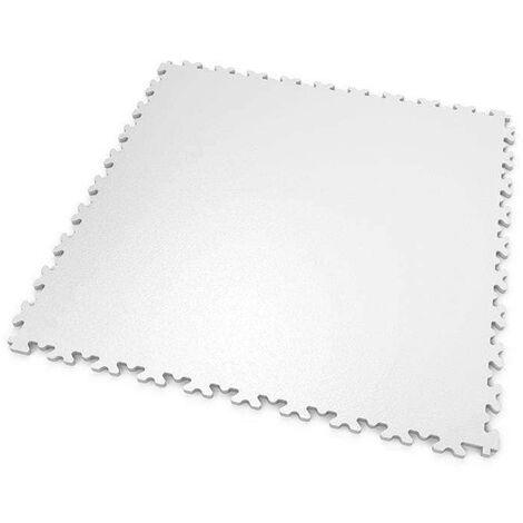 """DALLES MOSAIK PVC Blanc - GARAGE, ATELIER - Épaisseur 7mm """"Surface Lisse"""""""