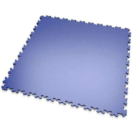 "DALLES MOSAIK PVC Bleu - GARAGE, ATELIER ""Surface Lisse"""