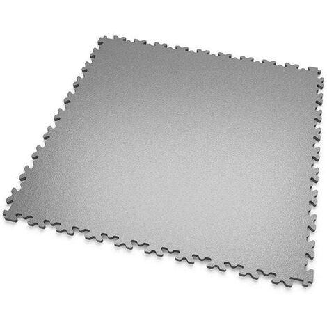 """DALLES MOSAIK PVC Gris-Clair - GARAGE, ATELIER - Épaisseur 7mm """"Surface Lisse"""""""