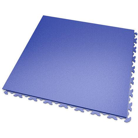 DALLES MOSAIK PVC JOINTS INVISIBLES Bleu - GARAGE, ATELIER - Épaisseur 7mm