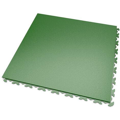 DALLES MOSAIK PVC JOINTS INVISIBLES Vert - GARAGE, ATELIER - Épaisseur 5mm