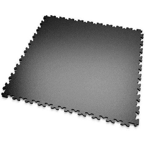 """DALLES MOSAIK PVC Noir - GARAGE, ATELIER - Épaisseur 5mm """"Surface Lisse"""""""