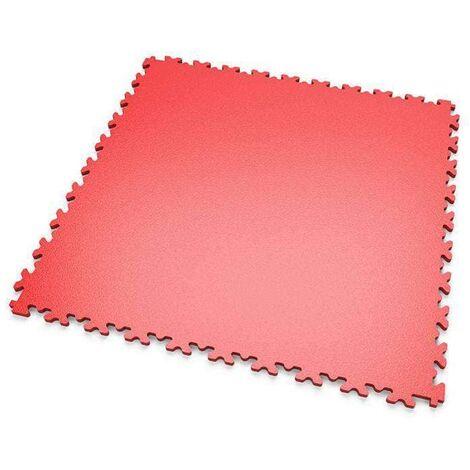 """DALLES MOSAIK PVC Rouge - GARAGE, ATELIER - Épaisseur 5mm """"Surface Lisse"""""""