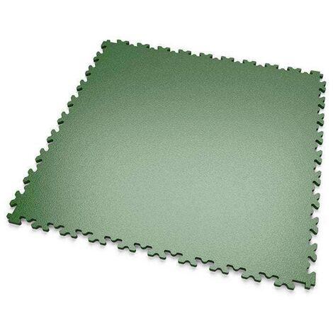"""DALLES MOSAIK PVC Vert - GARAGE, ATELIER - Épaisseur 5mm """"Surface Lisse"""""""