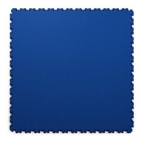 """Dalles PVC Bleu """"FORTELOCK XL"""" Grand Format  epaisseur 4mm   Garage, Atelier, Usine, Entrepôt, Magasin, Salle de Sport"""