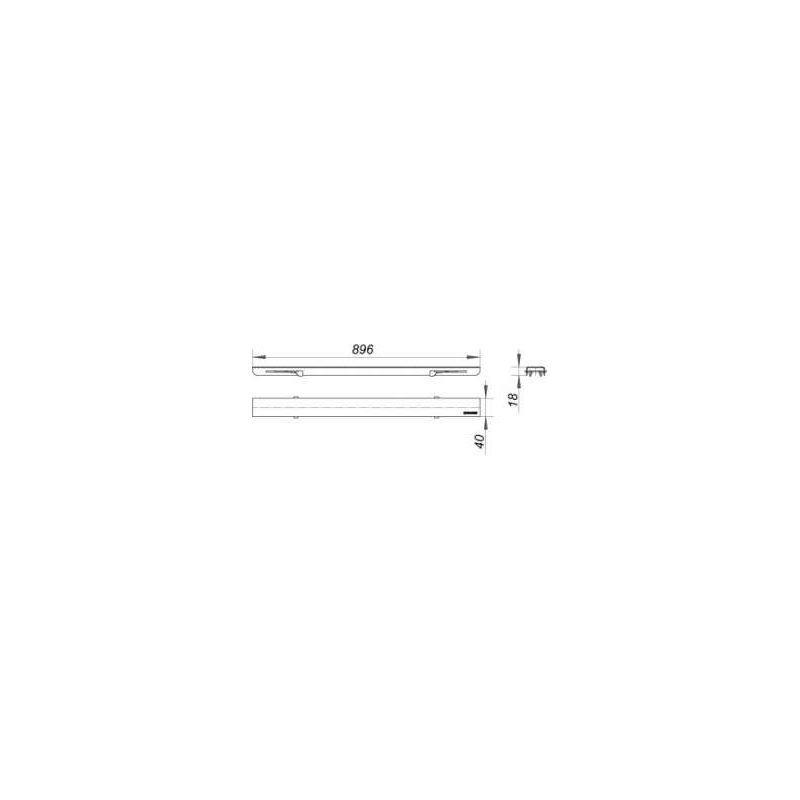 DALLMER  Abdeckung CeraLine Standard 900