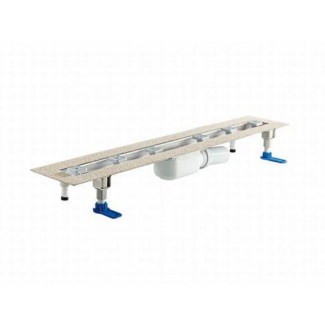 DALLMER caniveau de douche CeraLine PLAN F 900mm, 523051, DN 50 Hauteur de construction 90mm - 523051