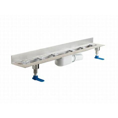 DALLMER caniveau de douche CeraLine PLAN W 500mm, 523112, DN 50 Hauteur totale 90mm - 523112