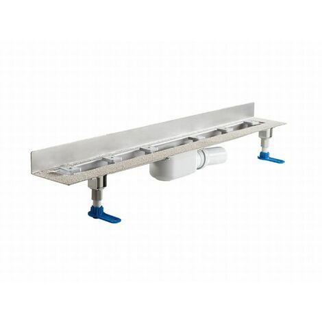 DALLMER caniveau de douche CeraLine PLAN W 800mm, 523143, DN 50 Hauteur totale 90mm - 523143