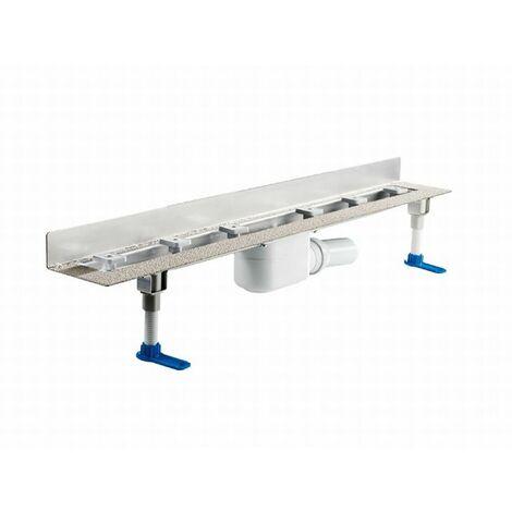 DALLMER caniveau de douche CeraLine W 1100mm, 520180, DN 50 hauteur totale 110mm - 520180