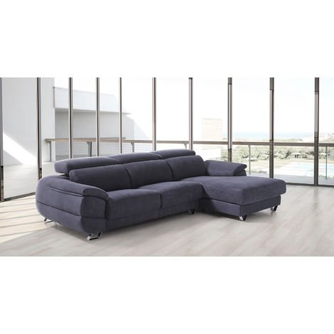 Dalmata Italian Fabric Corner Group Sofa