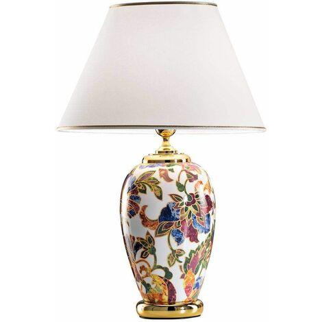 DAMASCO 24 Carat Gold Table Lamp 1 Light
