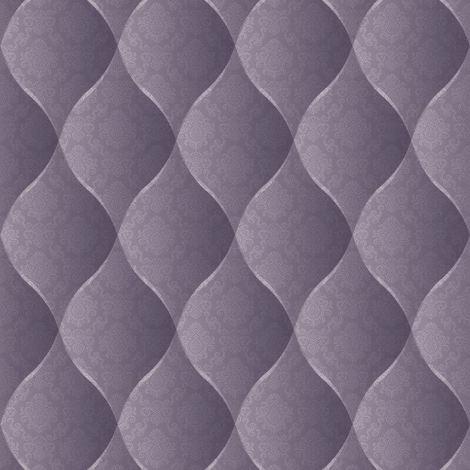 Damask Chesterfield Headboard Padded Look Wallpaper Cushioned Vinyl Purple