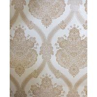 Damask Wallpaper Textured Modern Moselle Cream Beige Holden Decor