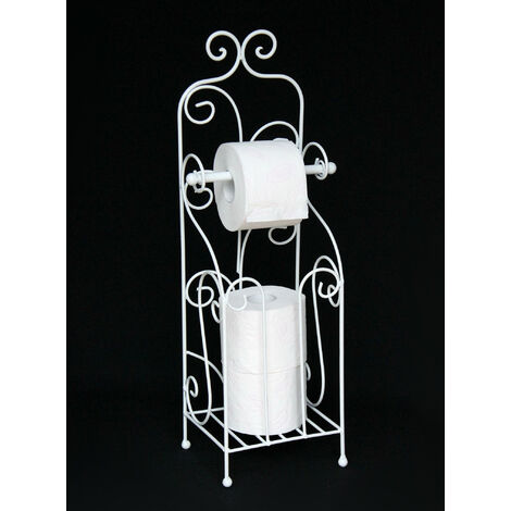 DanDiBo Support Rouleaux Papier Toilette HX13608 Blanc Support Papier Toilette Support Rouleau Papier Toilette