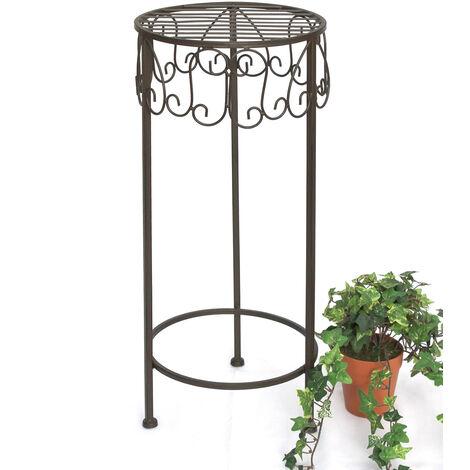 DanDiBo Tabouret Porte-Fleurs 140128 M 60 cm Support de Fleurs Porte-Plantes Tabouret Table d'appoint