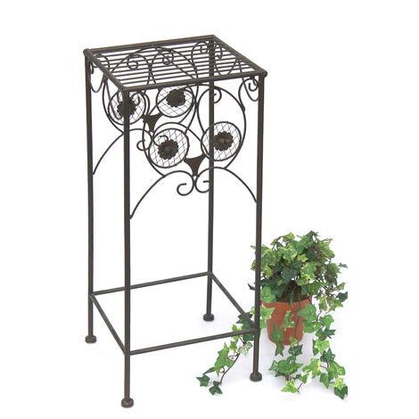 DanDiBo Tabouret Porte-Fleurs Chouette 60 cm Support de Fleurs 140193-M Porte-Plantes Tabouret Table