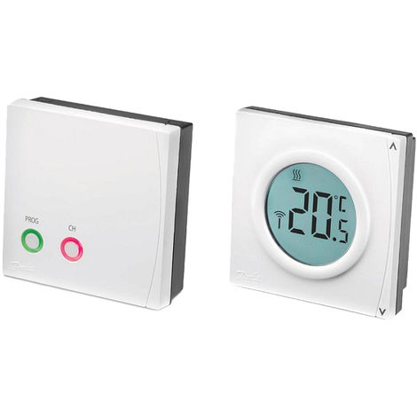 Danfoss RET2000B Battery Powered Central Heating Digital Room Thermostat