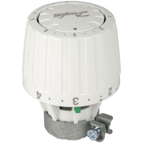 Danfoss Service-Thermostatkopf RA/VL alt/neu, flüssigkeitsgefülltes Thermostat mit Sollwertbereich von 5°C - 28°C, Frostschutzsicherung, 1-5 Merkzahl, 26 mm, Kunststoff, Weiß, 27199 8