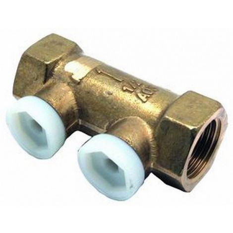 """Danfoss Socla A47 anti-pollution valve Pollustop 1/2"""" - NF - Brass - FF"""
