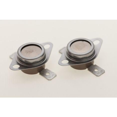 daniplus© Temperaturbegrenzer, Thermostat passend für Indesit, Ariston Wäschetrockner C00116598