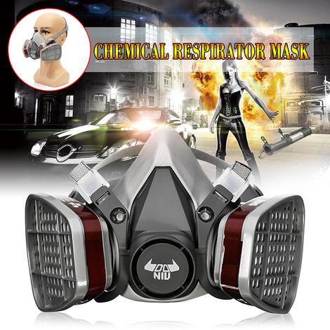 DANIU 6200 N95 Masque Chimique Protection Gaz de Double