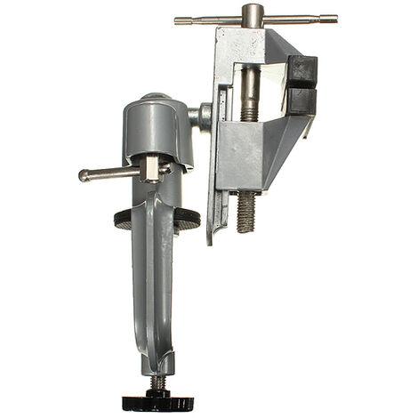 DANIU professionnel 360 degrés Mini perceuse électrique étau banc étau pivotant avec pince étau de table 3 pouces