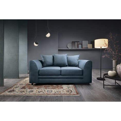 Darcy 2 Seater Sofa - color Teal