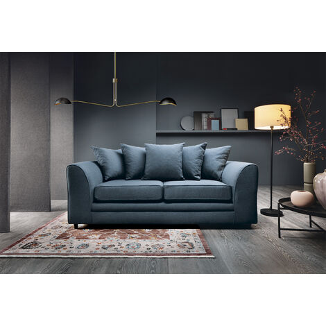 Darcy 3 Seater Sofa - color Teal