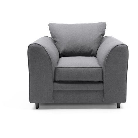 Darcy Armchair - color Dark Grey