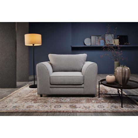 Darcy Armchair - color Light Grey