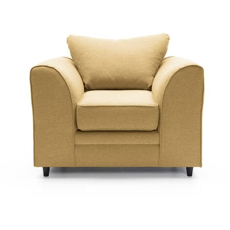 """main image of """"Darcy Armchair - color Mustard"""""""