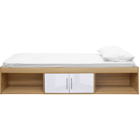 """main image of """"Darcy Cabin Bed Oak-White"""""""