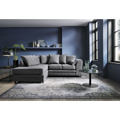 "main image of ""Darcy Linen Corner Sofa"""