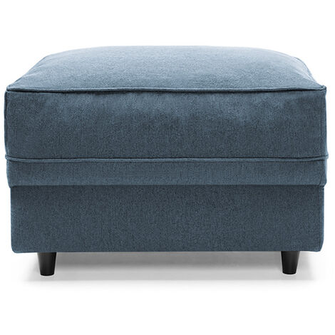 """main image of """"Darcy Footstool - color Teal"""""""