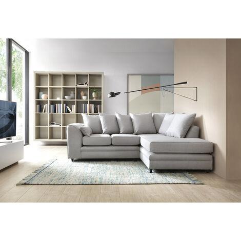 Darcy Linen Corner Sofa