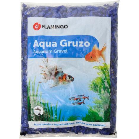 Dark Blue Neon Gravel 1 kg. for aquarium.