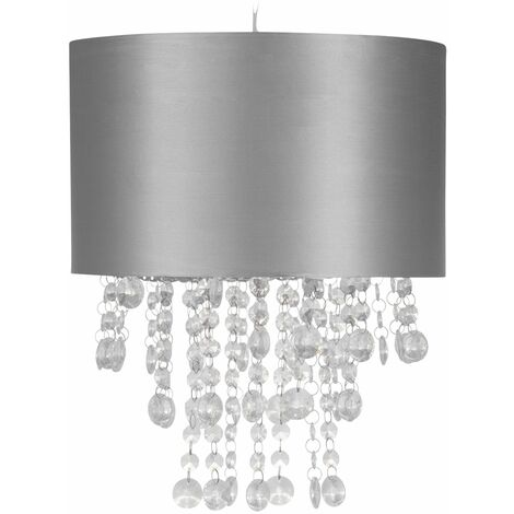 """main image of """"Modern Jewelled Ceiling Light Shades Easy Fit Pendant Lightshades"""""""