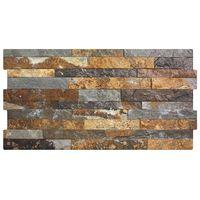 Dark Rustic Split Face Effect Tiles - 600x300x7mm